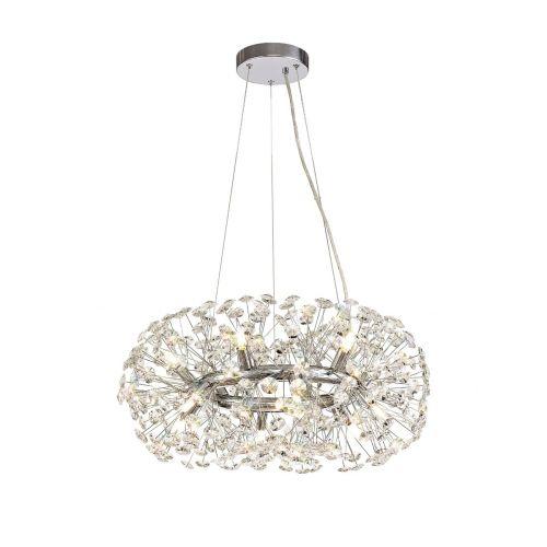 Ceiling Pendant 12 Light G9 Polished Chrome/Crystal Leucas LEK3356