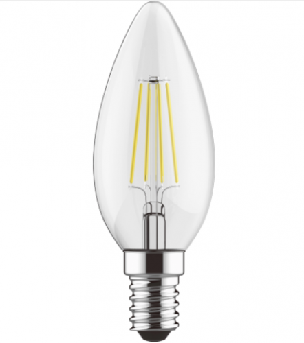Candle LED Lamp 4W SES / E14 Cap Dimmable Natural White 4000K