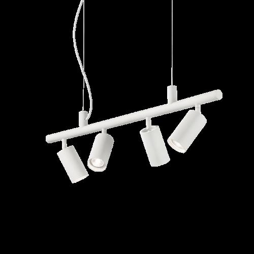 Ideal Lux Dynamite Spotlight Bar 4 Light White IDE/231372