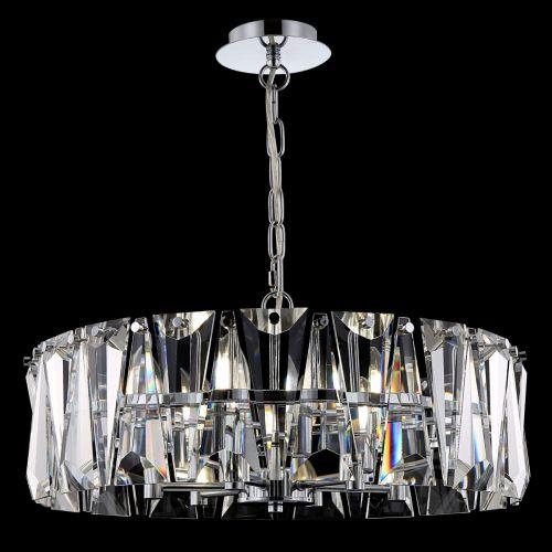 Maytoni Puntes Modern 6 Light Ceiling Pendant Fitting Chrome MOD043PL-06CH