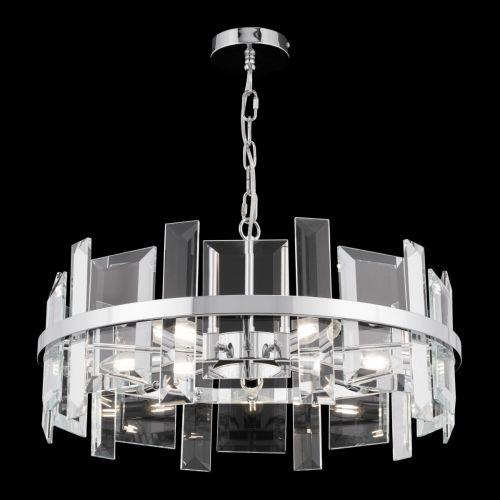 Maytoni Cerezo Modern 5 Light Ceiling Pendant Fitting Chrome MOD201PL-05N