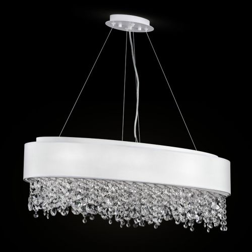 Maytoni Manfred Modern 9 Light Pendant Fitting White MOD600PL-09W