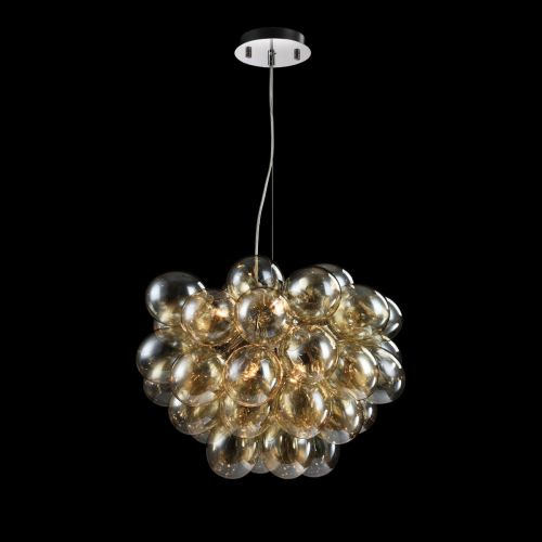 Maytoni Balbo Modern 8 Light Ceiling Pendant Fitting Nickel MOD112-08-G
