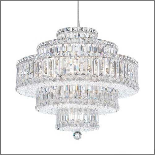 Schonbek 6673 Plaza 22Lt Spectra Crystal Ceiling Pendant