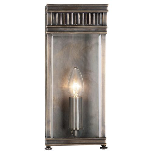 Elstead Holborn Single Outdoor Wall Lantern HL7/S DB Dark Bronze