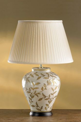 Elstead Leaves Brown/Gold Table Lamp ELS/LEAVES BR GL/TL