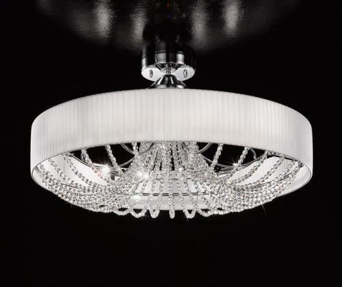 Kolarz Gioiosa 12Lt Crystal Semi-Flush Ceiling Light