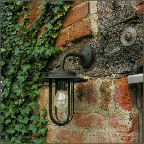 Astro Montparnasse Outdoor Wall Light Painted Bronze Wall Light 1096009