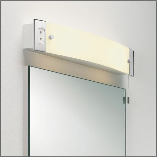 Astro 2 Light Polished Chrome Shaver Bathroom Wall Light 1022001