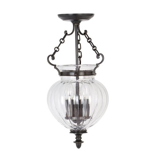 Elstead Finsbury Park Old Bronze 3 Light Indoor Lantern FP/P/S