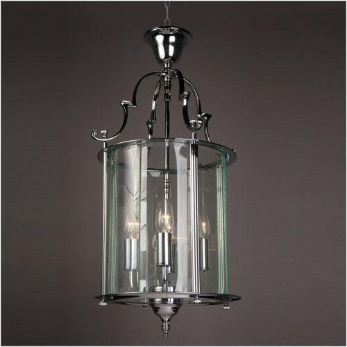 Impex LG07000/11/CH Colchester 4 Light Chrome Indoor Lantern