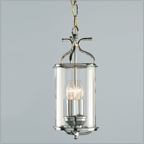 Impex LG00029/CH Winchester 2Lt Polished Chrome Indoor Lantern