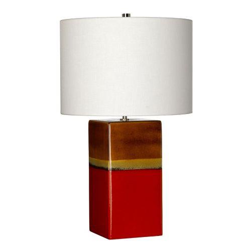 Elstead Alba Rouge Square Table Lamp ELS/ALBA/TL ROUGE