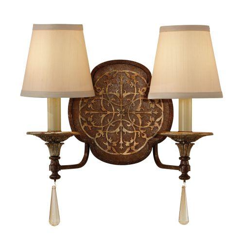 Feiss Marcella Ornate Bronze Gold Wall Light FE/Marcella2