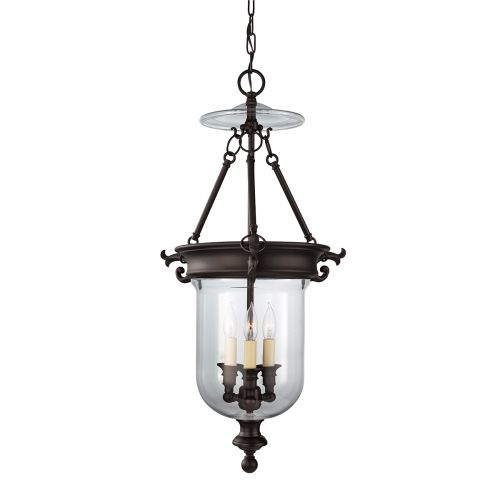 Feiss Luminary Hanging Indoor Lantern Oil Rubbed Bronze FE/LUMINARY/P/B