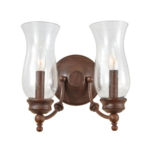 Feiss Pickering Lane Heritage Bronze Double Wall Light FE/PICKERINGL2