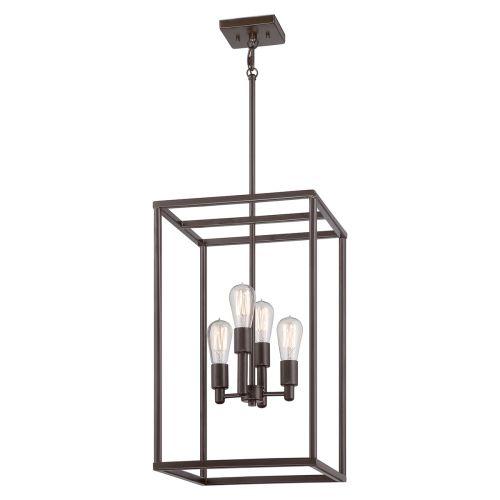 Quoizel New Harbor Western Bronze Indoor Lantern QZ/Newharbor/4P