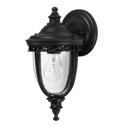 Feiss English Bridle Small Wall Lantern In Black ELS/ FE/EB2/S BLK