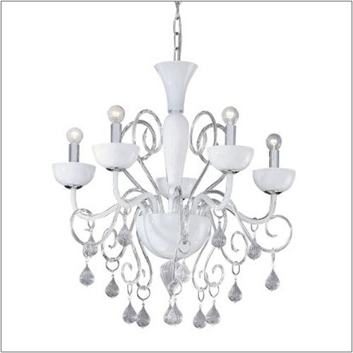 Ideal Lux Lilly 5 Light Hand Blown Glass Chandelier SP5 022789