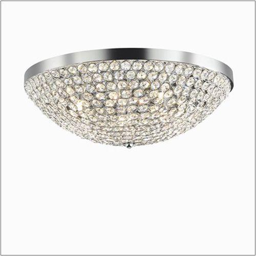 Ideal Lux Orion PL12 Ceiling Light 059129 Polished Chrome