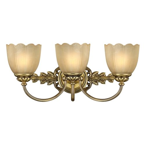 Hinkley Isabella Bathroom Wall Light HK/ISABELA3 BATH Burnished Brass
