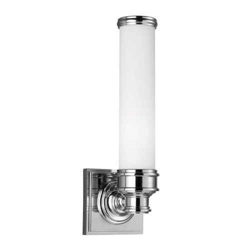 Feiss Payne 1 Light Wall Fitting FE/PAYNE1 BATH Polished Chrome