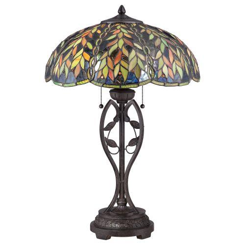 Quoizel Tiffany Belle Table Lamp QZ/BELLE/TL Bronze Base