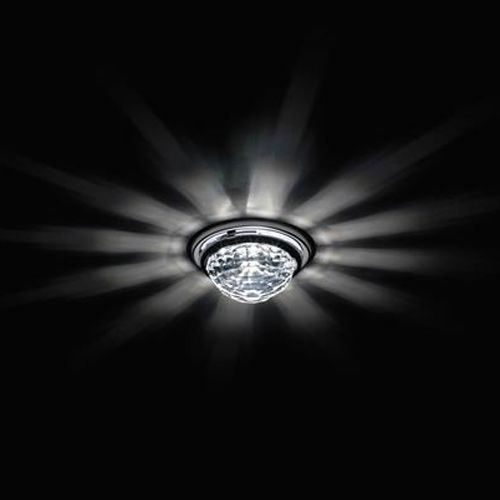 Swarovski A8992NR020010CRY Vega Crystal Downlight Chrome Frame