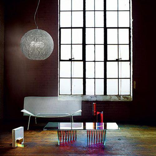 Ideal Lux Emis Ceiling Light Aluminium SP3 D50 026510