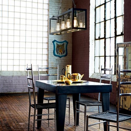 Ideal Lux Igor 4lt Hanging Ceiling Light Black SP4 092942