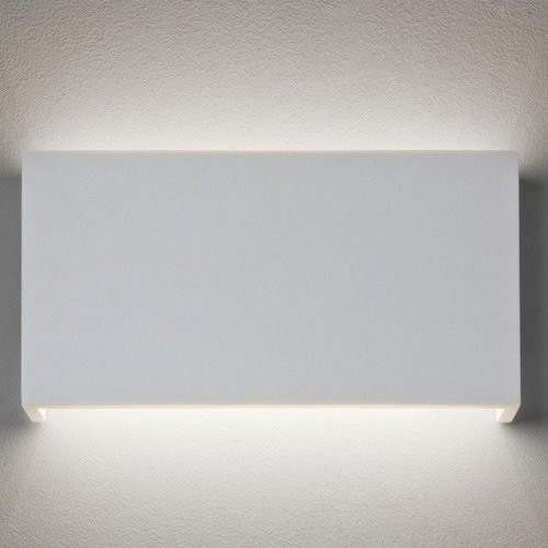 Astro Rio LED White Plaster Wall Light 7608