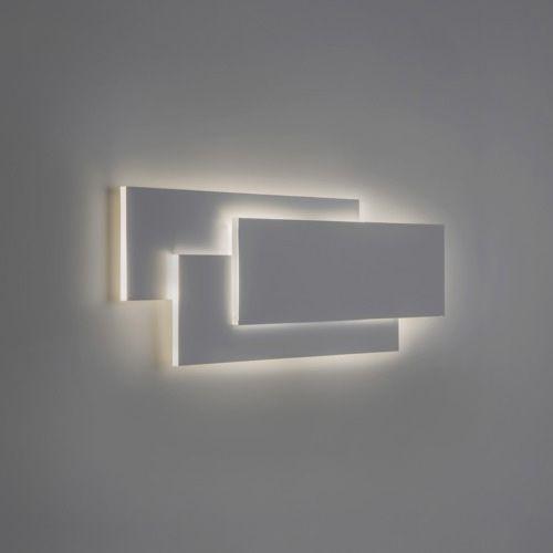 Astro Edge 560 LED White Wall Light 7805