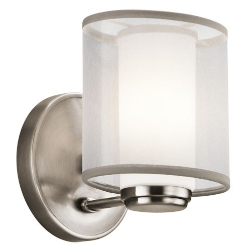 Kichler Saldana Pewter Single Wall Light KL/SALDANA1