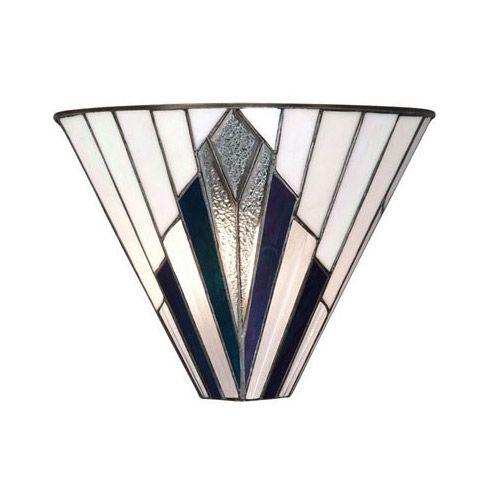 Interiors 1900 Tiffany Astoria Wall Light 63940