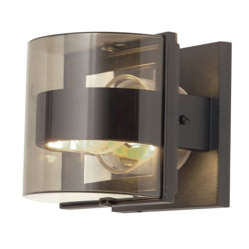 Elstead ELS/FRIDA/S Frida 1Lt Graphite Grey IP54 Outdoor Wall Light