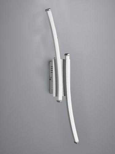 Mantra M5102 Surf 1Lt LED Silver Wall Light