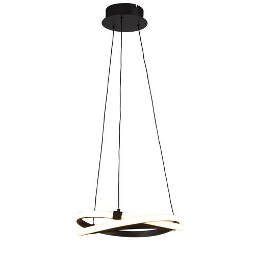 Mantra M5394 Infinity 1Lt LED Brown Oxide Pendant Ceiling Light