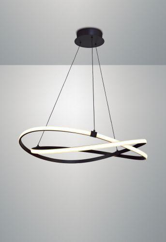 Mantra M5391 Infinity 1Lt LED Brown Oxide Large Pendant Ceiling Light