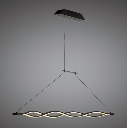 Mantra M5817 Sahara Pendant 36W LED 2800K, 2520lm, Dimmable Frosted Acrylic Brown Oxide