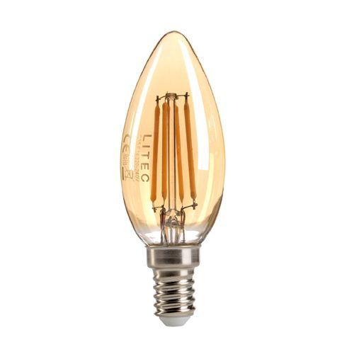 Vintage Candle LED Lamp 4Watt E14 Cap Warm White