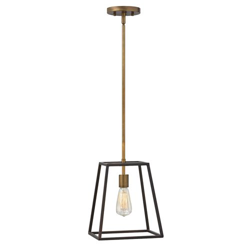 Hinkley HK/FULTON/P Fulton 1Lt Bronze Pendant Light