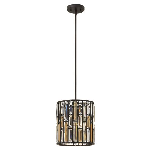 Hinkley HK/GEMMA/P/A VBZ Gemma 1Lt Old Bronze Mini Pendant Light