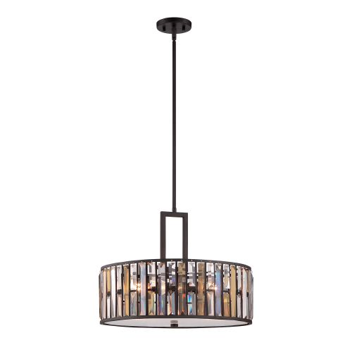Hinkley HK/GEMMA/P/C VBZ Gemma 3Lt Old Bronze Pendant Light