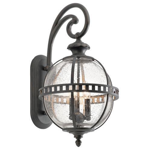 Kichler KL/HALLERON/2M Halleron 3Lt Londonderry Outdoor Wall Lantern