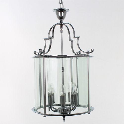 Impex LG07000/15/CH Colchester 6 Light Chrome Indoor Lantern