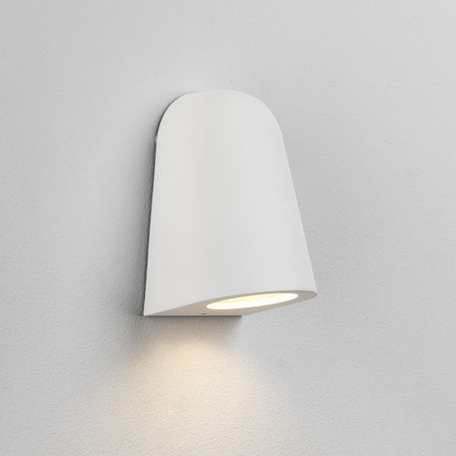 Astro Mast 1317004 Mast Single Outdoor Wall Light White