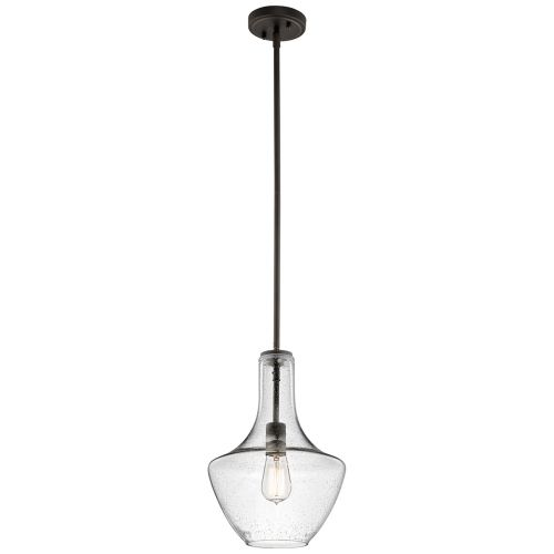 Kichler KL/EVERLY/P/S OZ Everly 1Lt Old Bronze Ceiling Pendant