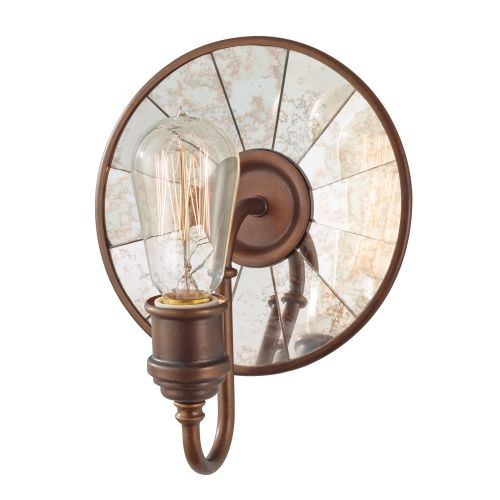 Feiss FE/URBANRWL/WB2 Urban Renewal 1Lt Astral Bronze Wall Light