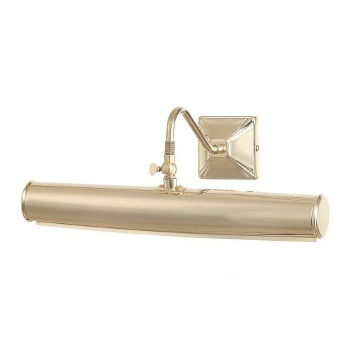 Elstead PL1/20 PB Picture Light 2Lt Polished Brass Large Wall Light