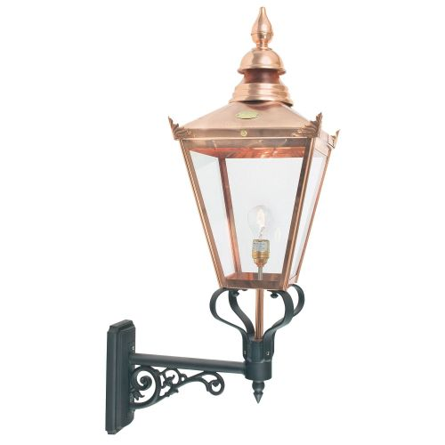 Norlys CSG1 COPPER Chelsea 1Lt Outdoor Wall Lantern